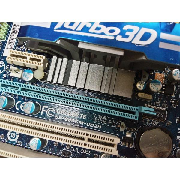 【中古品美品】純正GA-880GM-UD2H/D2H 880G マザーボード AM3 yiwustore2 03