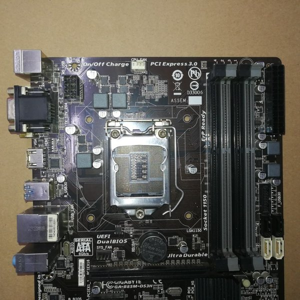 【中古美品】純正Gigabyte B85M-DS3H マザーボード Intel B85 LGA 1150 Micro ATX|yiwustore2|02