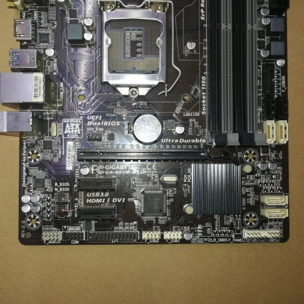 【中古美品】純正Gigabyte B85M-DS3H マザーボード Intel B85 LGA 1150 Micro ATX|yiwustore2|03