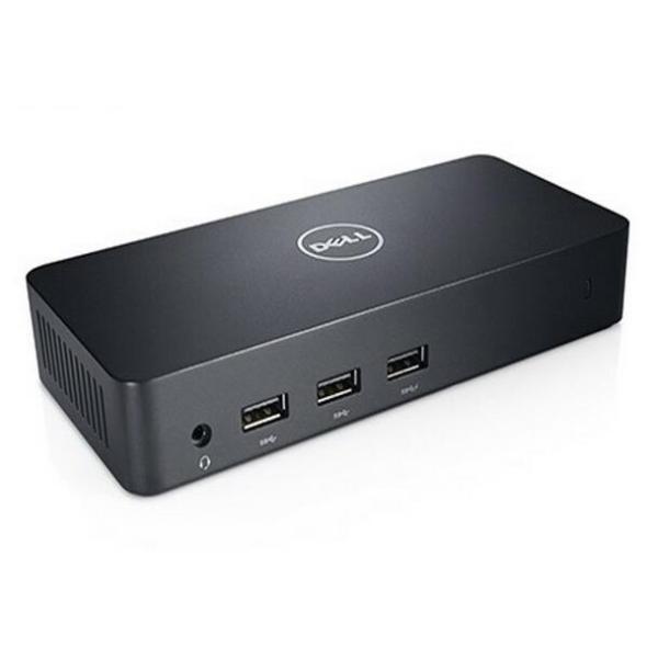 中古美品 DELL D3100 win USB3.0 ドッキングステーション USBケーブル ACアダプタ付属