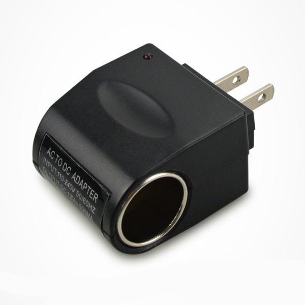 【送料無料】家庭用コンセント→シガーソケット AC-DC 変換アダプター( AC100VからDC12V出力シガーソケット変換 )1000mA 出力|yiyi|02