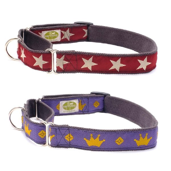 earthdog(アースドッグ) decorative hemp martingale collars Sサイズ 小型犬用 中型犬用|ykozakka