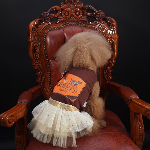LunaBlue(ルナブルー)HAIRMES DOG DRESS S, M, Lサイズ 送料無料 ykozakka 04
