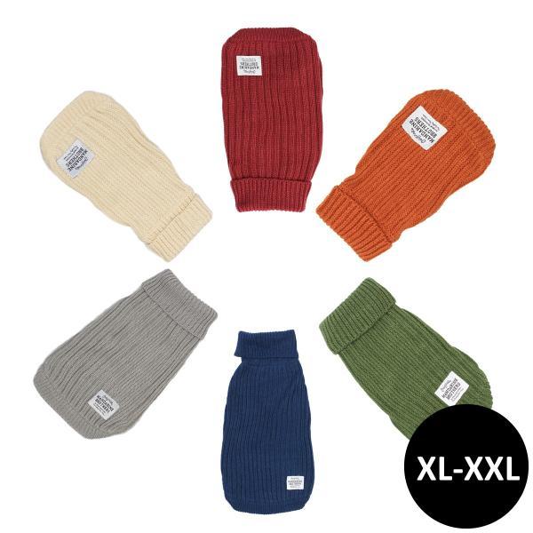 Mandarine brothers(マンダリンブラザーズ )モックネックセーター XL,XXLサイズ|ykozakka