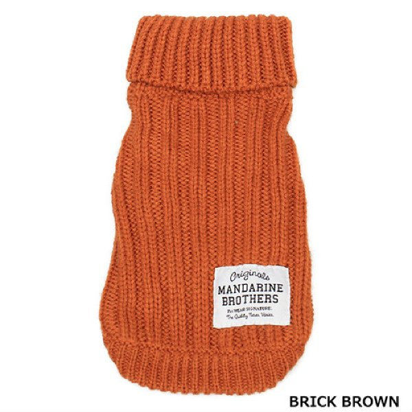 Mandarine brothers(マンダリンブラザーズ )モックネックセーター XL,XXLサイズ|ykozakka|12