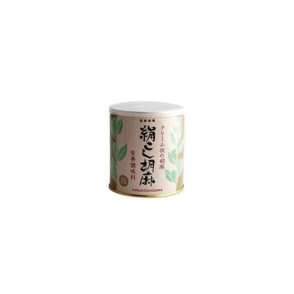 ※送料無料 絹ごし胡麻 白 (ねりごま) 500g×12缶セット 大村屋