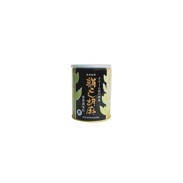 ※送料無料 絹ごし胡麻 黒 (ねりごま) 300g×6缶セット 大村屋