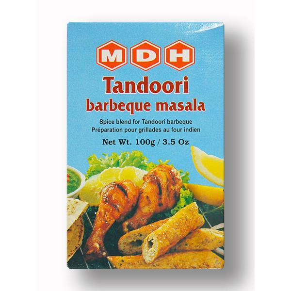 タンドリーチキンの素 タンドリーバーベキューマサラ 100g MDH(Mahasian Di Hatti) Tandoori Barbeque Masala 送料無料(ポスト投函便)