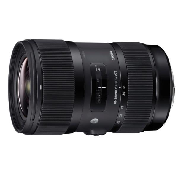 《新品》 SIGMA(シグマ) A 18-35mm F1.8 DC HSM(ニコン用)[ Lens | 交換レンズ ]【数量限定 / Kenko ZXプロテクター72mm プレゼント】