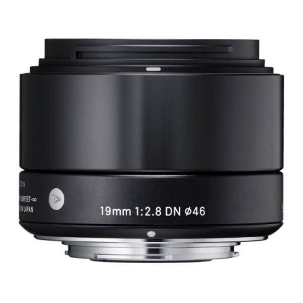 《新品》 SIGMA(シグマ) A 19mm F2.8 DN (マイクロフォーサーズ用) ブラック