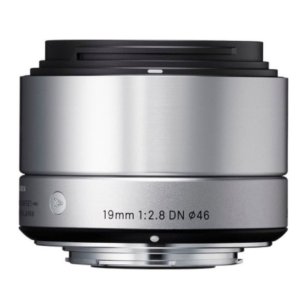 《新品》 SIGMA(シグマ) A 19mm F2.8 DN (マイクロフォーサーズ用) シルバー