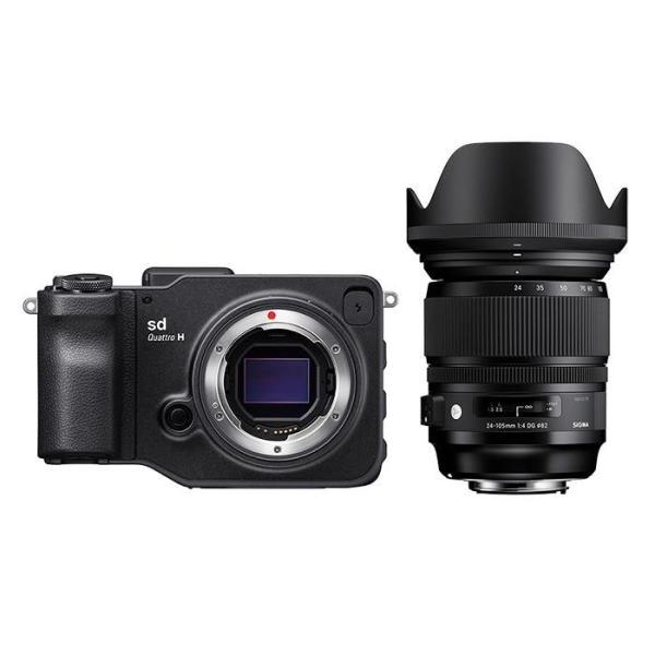 《新品》SIGMA (シグマ) sd Quattro H A 24-105mm F4 DG OS HSM レンズキット