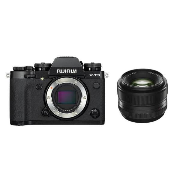 《新品》FUJIFILM (フジフイルム) X-T3 ブラック+フジノン XF 35mm F1.4 Rセット 〔マップカメラオリジナルセット〕