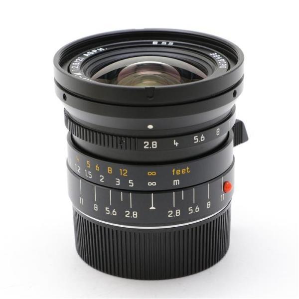《美品》 Leica エルマリート M21mm F2.8 ASPH 6bit ブラック