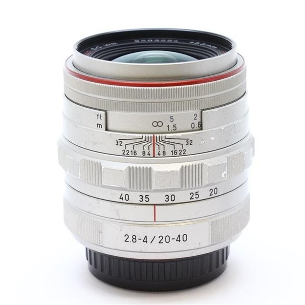《並品》 PENTAX HD DA20-40mm F2.8-4ED Limited DC WR シルバー