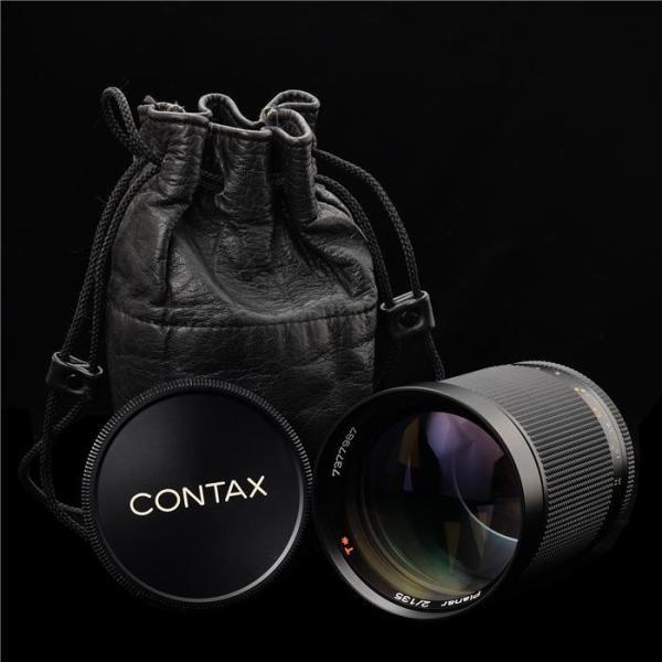 《美品》CONTAX Planar T*135mm F2 MM (60th)