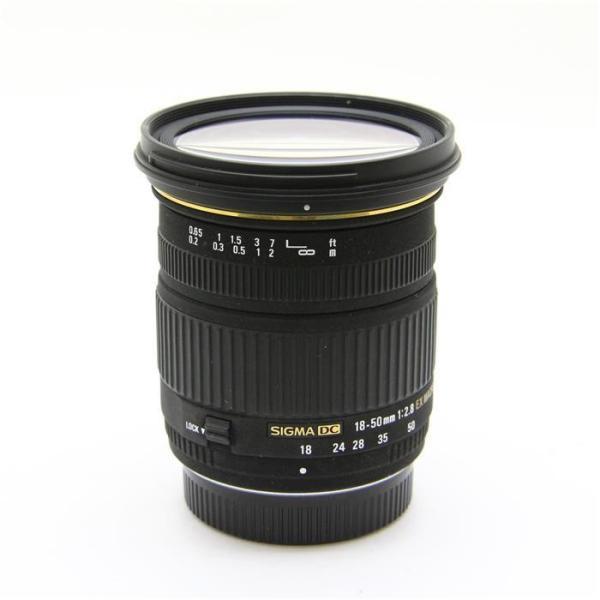 《良品》SIGMA 18-50mm F2.8 EX DC MACRO (ペンタックス用)