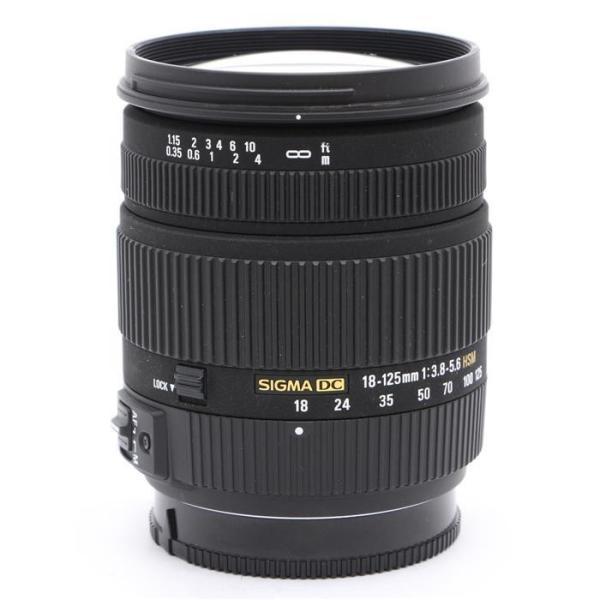 《並品》SIGMA 18-125mm F3.8-5.6 DC HSM(ソニーα用)