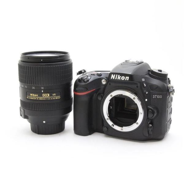 《並品》Nikon D7100 18-300 VR スーパーズームキット