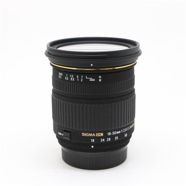 《美品》SIGMA 18-50mm F2.8 EX DC MACRO (ニコン用)