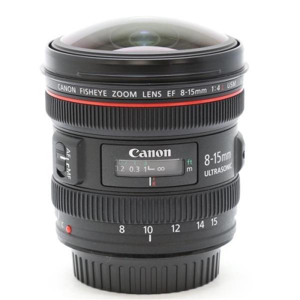 《美品》Canon EF8-15mm F4L フィッシュアイ USM