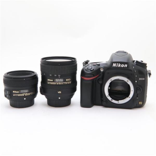 《美品》Nikon D600 ダブルレンズキット