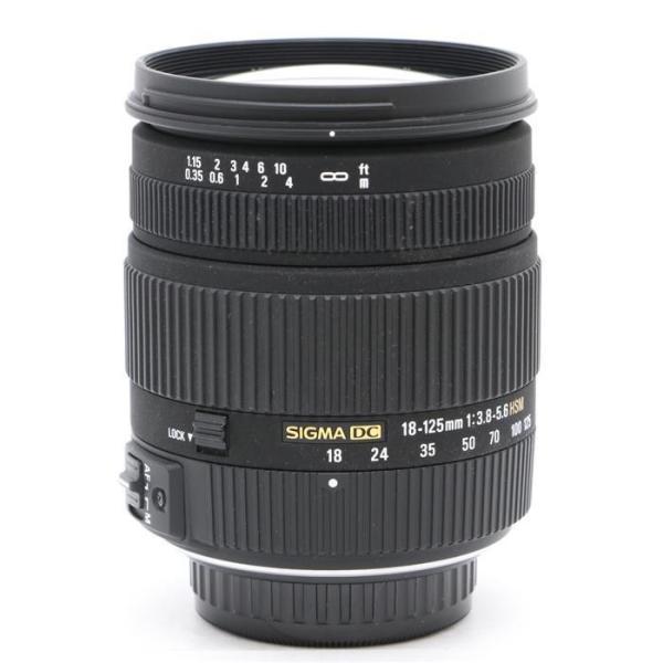 《良品》SIGMA 18-125mm F3.8-5.6 DC HSM(ペンタックス用)