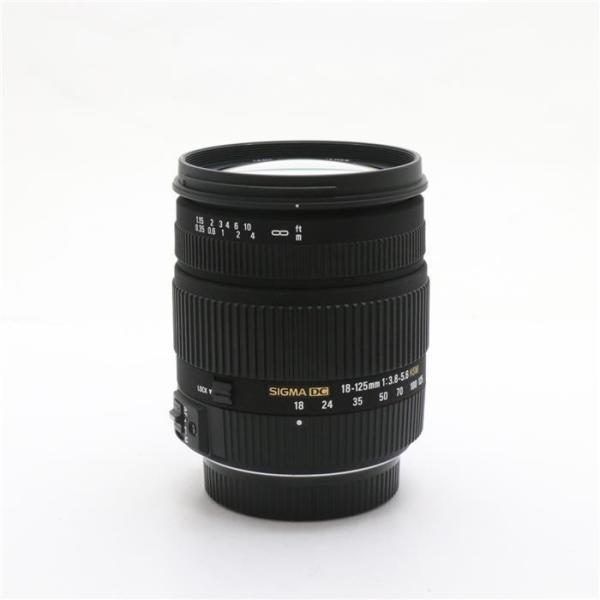 《美品》SIGMA 18-125mm F3.8-5.6 DC HSM(ペンタックス用)