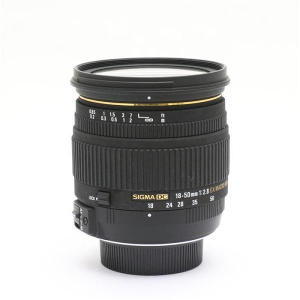 《良品》SIGMA 18-50mm F2.8 EX DC MACRO (ニコン用)