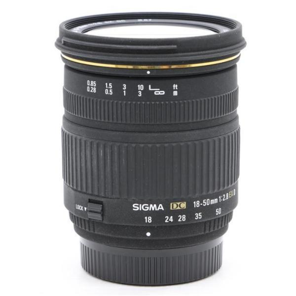 《並品》SIGMA AF 18-50mm F2.8 EX DC (ニコン用)