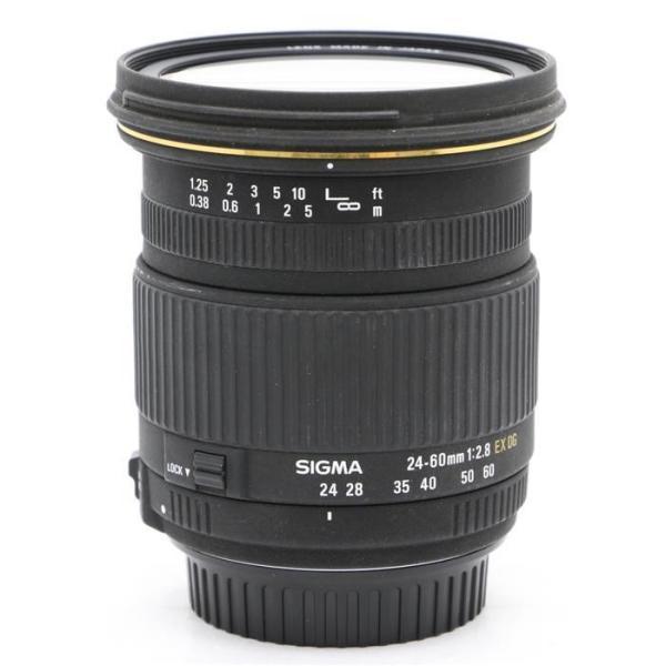 《並品》SIGMA 24-60mm F2.8 EX DG(キヤノン用)