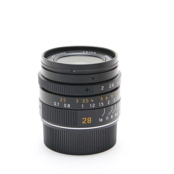 《美品》Leica ズミクロン M28mm F2.0 ASPH (フードはめ込み式)