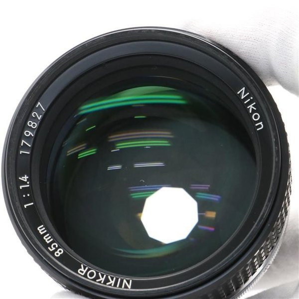 《並品》Nikon Ai 85mm F1.4S