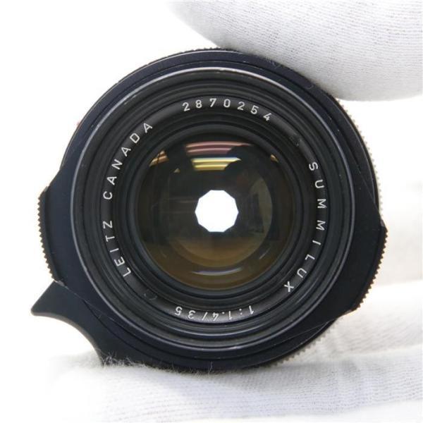 《並品》Leica ズミルックス M35mm F1.4 2nd ストッパーなし *フィルター径無し