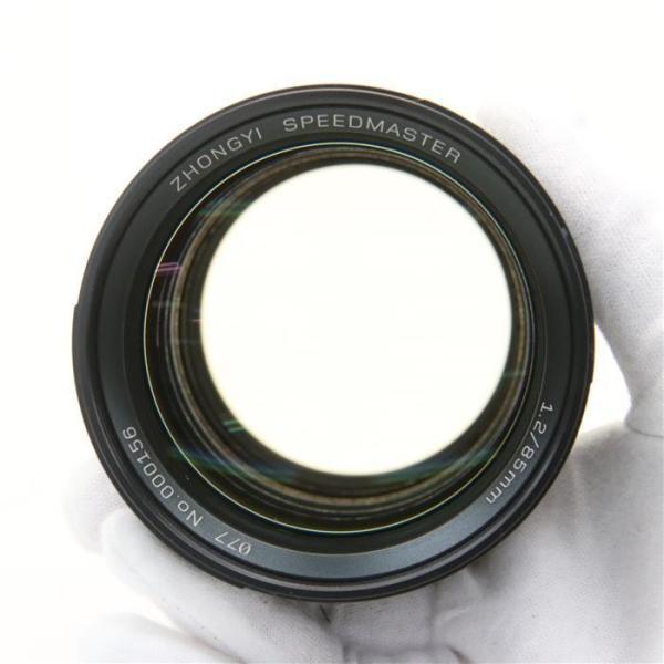 《美品》ZHONG YI OPTICAL SPEEDMASTER 85mm F1.2 (キヤノン用)