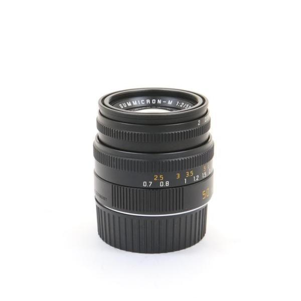 《良品》Leica ズミクロン M50mm F2 レンズフード組込