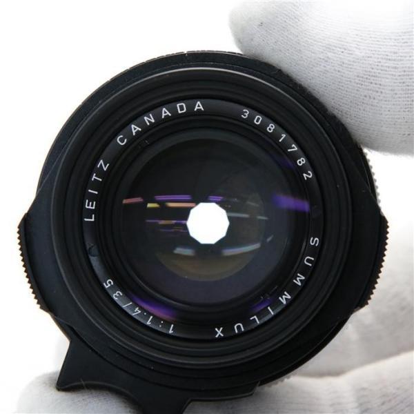《美品》Leica ズミルックス M35mm F1.4 2nd ブラック ストッパーなし *フィルター径無し