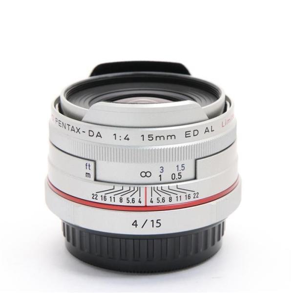 PENTAX(ペンタックス) HD DA15mm F4 ED AL Limited シルバーの画像