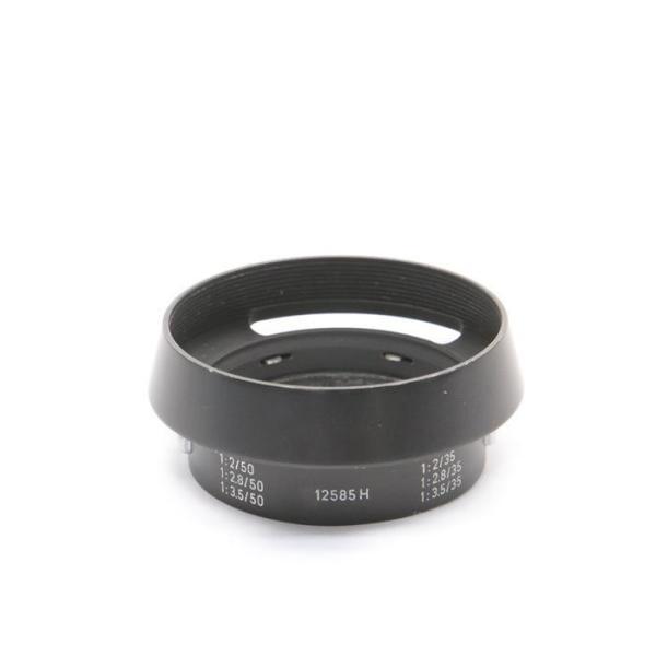 《良品》Leica 12585 M35mm/M50mm用フード