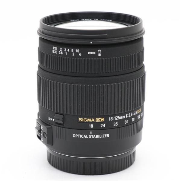 《良品》SIGMA 18-125mm F3.8-5.6 DC OS HSM(キヤノン用)