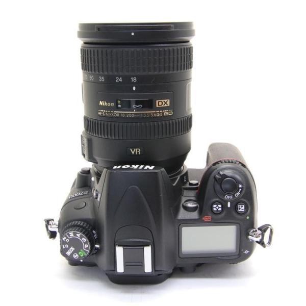 《並品》Nikon D7000 18-200 VR II レンズキット