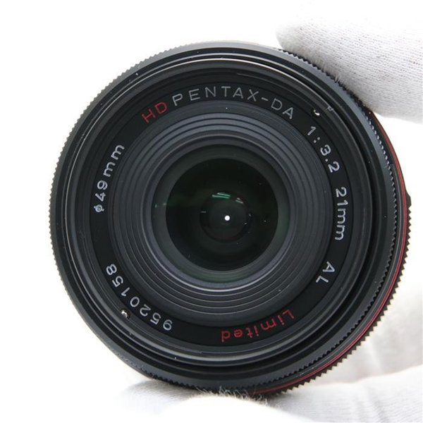 《美品》PENTAX HD DA21mm F3.2AL Limited ブラック