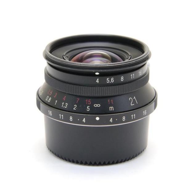 Voigtlander(フォクトレンダー) COLOR SKOPAR 21mm F4(専用ファインダー付) ブラックの画像