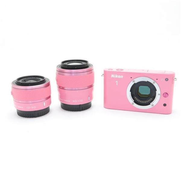 Nikon(ニコン) Nikon 1 J1 ダブルズームキット ピンクスペシャルキット ピンクの画像