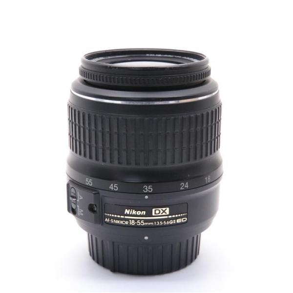 Nikon(ニコン) AF-S DX ED 18-55mm F3.5-5.6 GII ブラックの画像