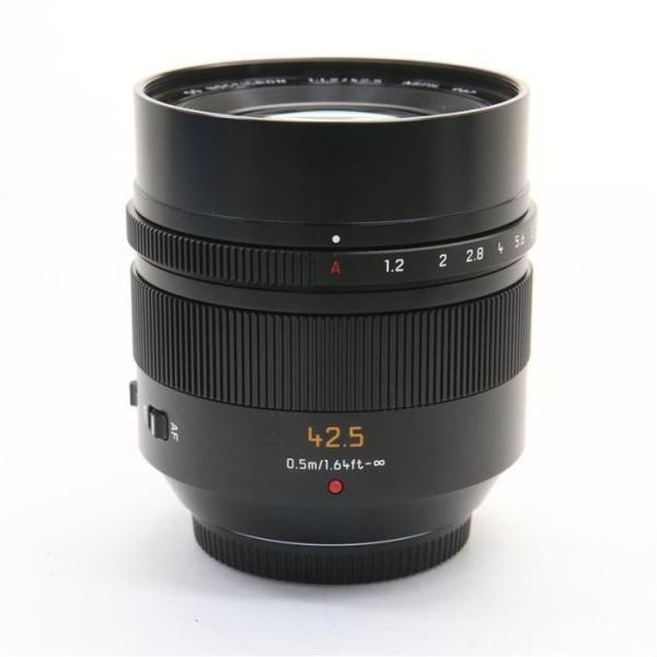 Panasonic/パナソニック LEICA DG NOCTICRON 42/1.2 M43マウント フードとB+Wフィルター付きレンズの画像