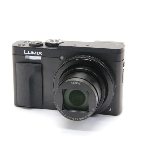 パナソニック 高倍率コンパクトカメラ 4K LUMIX(ルミックス) DC-TZ90-K ブラックの画像