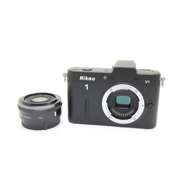 Nikon(ニコン) Nikon 1 V1 薄型レンズキット ブラックの画像