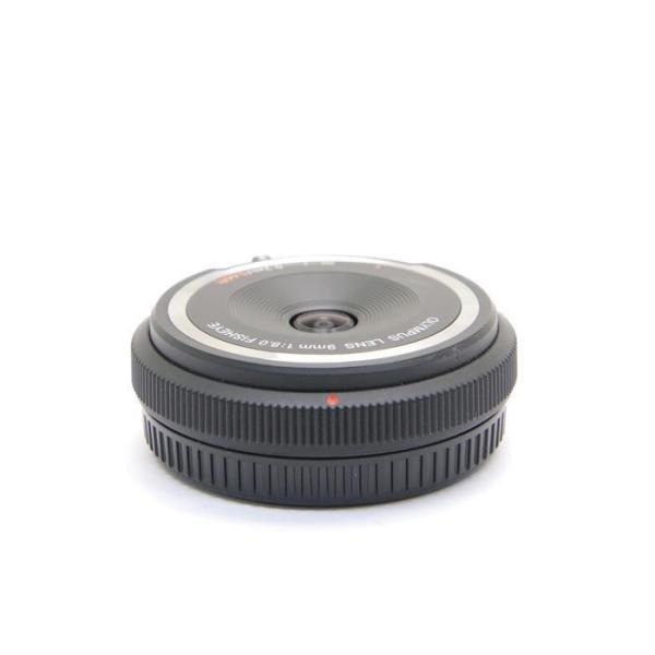 OLYMPUS(オリンパス) フィッシュアイボディキャップレンズ(9mm F8.0 FISHEYE) BCL-0980 ブラックの画像