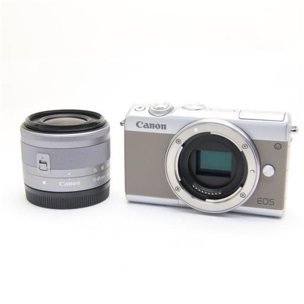 キヤノン EOS M100 EF-M15-45IS STM レンズキット グレーの画像